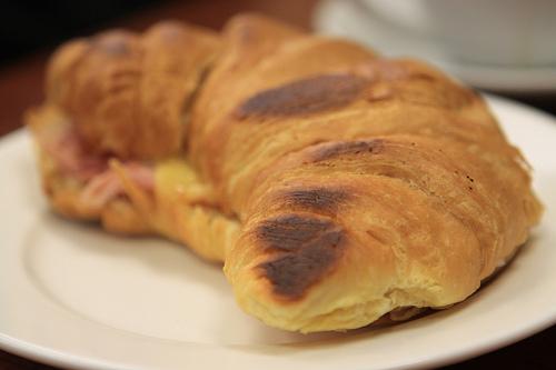 Gourmet croissant
